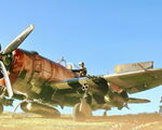 Repost: Republic P 47D Thunderbolt «Miss Fire»